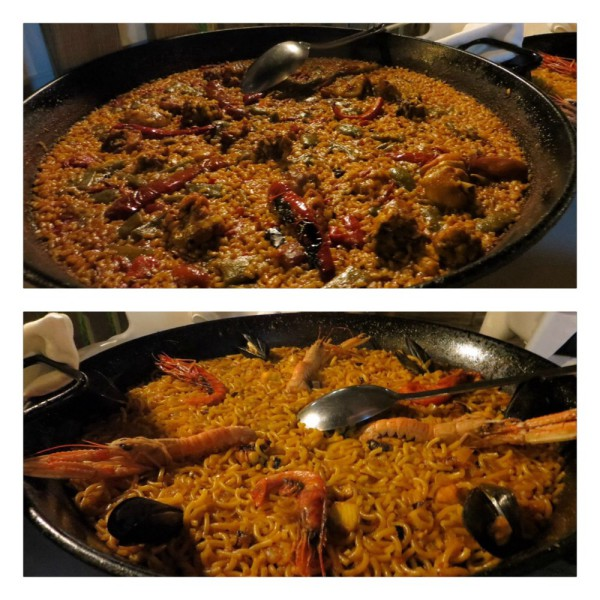 Paella and Fideua