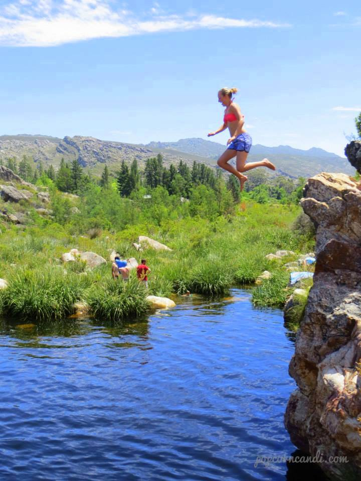 Cliff Jumping at Beaverlac