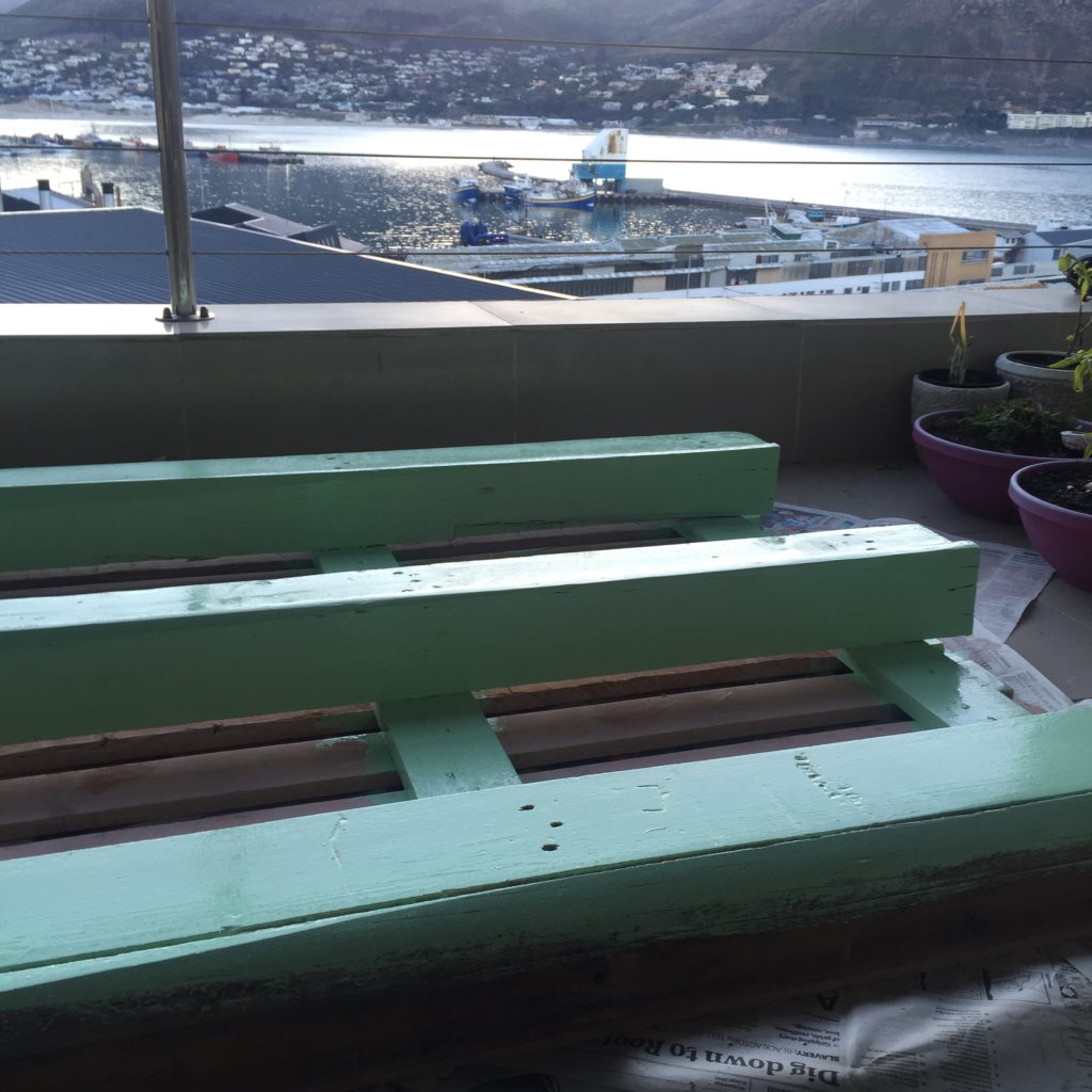 DIY Herb Pallet Planter5