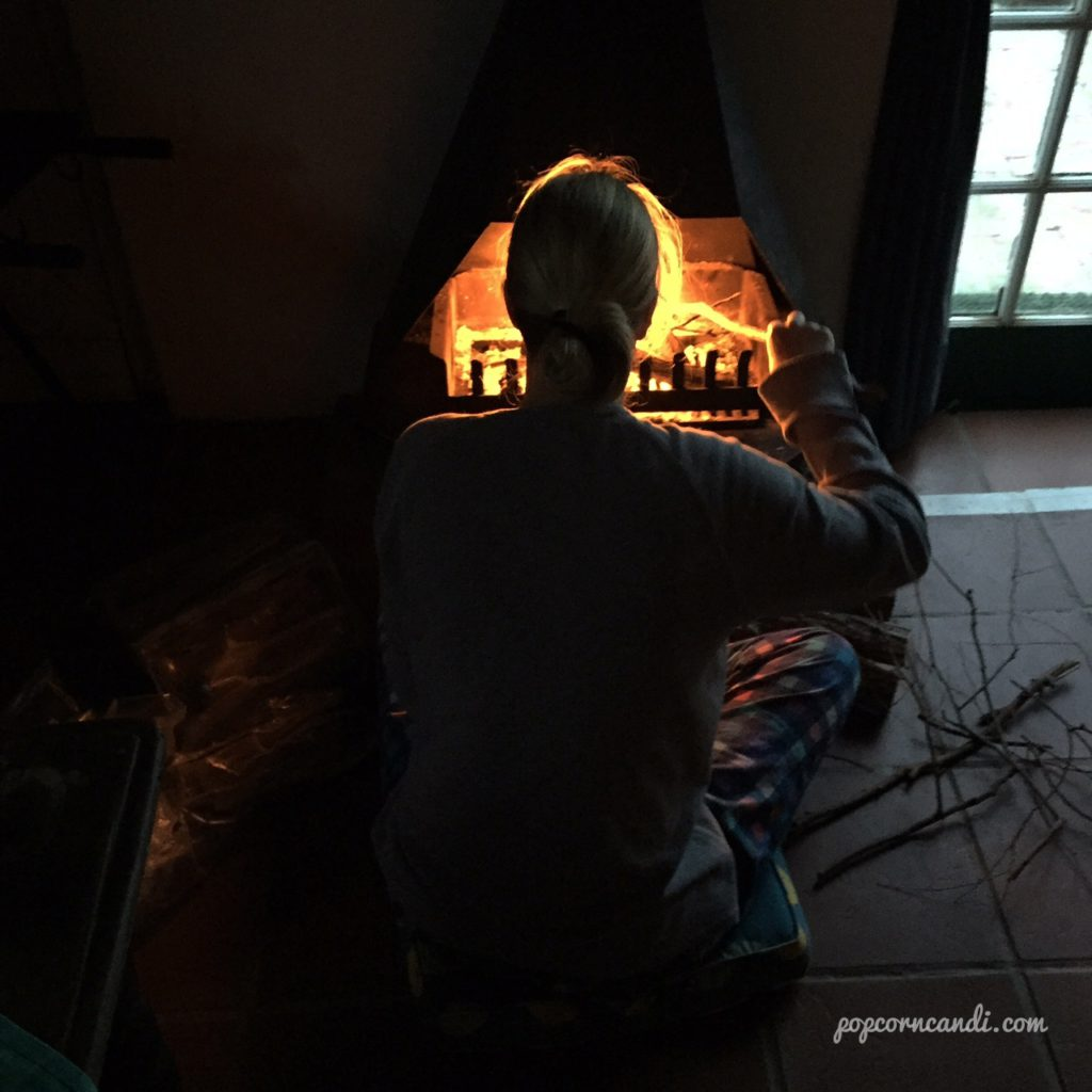 Volkshuisie Fireplace